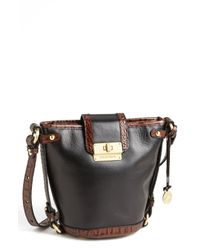 Brahmin | Brown Tuscan Oxford Crossbody Bag | Lyst