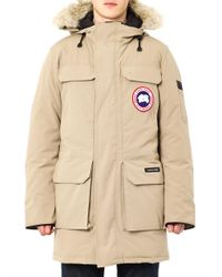 Canada Goose | Brown Burnett Jacket in Tan for Men | Lyst