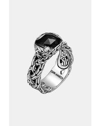 John Hardy | Metallic Classic Chain Batu Small Braided Ring | Lyst