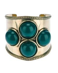 Antik Batik | Green Four Stone Bangle | Lyst