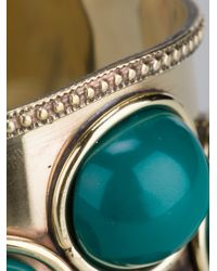 Antik Batik - Green Four Stone Bangle - Lyst