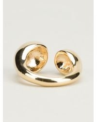 Helena Rohner | Metallic Brass Ring | Lyst