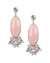 Noir Jewelry - Pink Earrings - Lyst