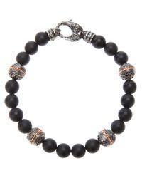 Stephen Webster | Black Beaded Bracelet for Men | Lyst