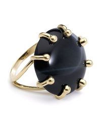 Elizabeth Showers | Metallic Coco Large Tigers Eye Cabochon Ring Size 7 | Lyst