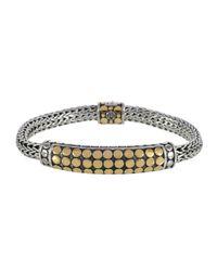 John Hardy | Metallic Dot Gold & Silver Chain Bracelet | Lyst