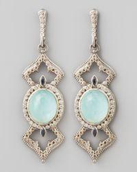 Armenta | Metallic New World Elongated Diamond & _ Earrings | Lyst