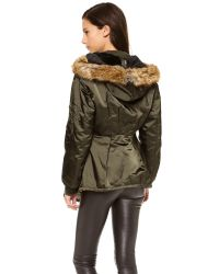 McQ - Green Parka Jacket - Lyst