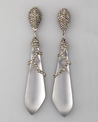 Alexis Bittar - Santa Fe Deco Large Drop Earrings - Lyst