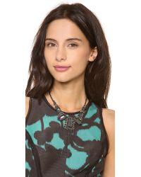 Alexis Bittar - Gray Nova Hematite Necklace - Lyst