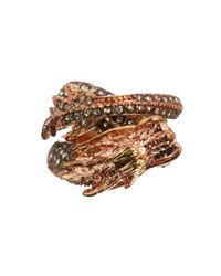 KTZ - Metallic Asos Jewel Dragon Ring - Lyst