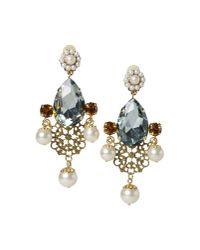 Dolce & Gabbana - Green Earrings - Lyst