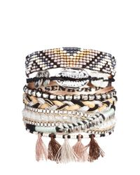 Hipanema | Gray Shadow Bracelet | Lyst