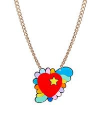 Tatty Devine - Red Heart Necklace - Lyst