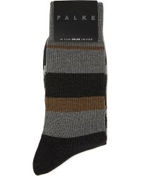 Falke | Black Compression Achilles Running Socks for Men | Lyst