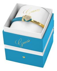 Guess | Metallic Heart Leather Bracelet Box Set | Lyst