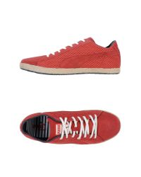 PUMA - Red Ankle Boots for Men - Lyst