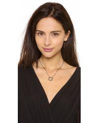 Alexis Bittar - Metallic Small Aura Pave Necklace - Lyst