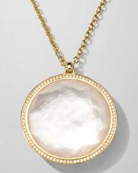 Ippolita - Metallic 18k Gold Rock Candy Large Lollipop Necklace In Doublet & Diamonds - Lyst