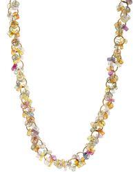 Marie-hélène De Taillac | Multicolor Sapphire Circus Necklace | Lyst