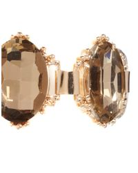 ASOS - Brown Vintage Style Jewel Bracelet - Lyst