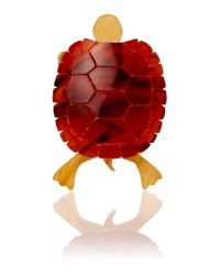 Tatty Devine | Multicolor Tortoise Ring | Lyst
