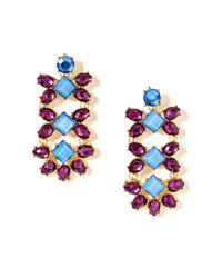 BaubleBar - Purple Grape Bloom Drops - Lyst