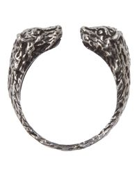 Pamela Love | Metallic Small Bear Ring | Lyst