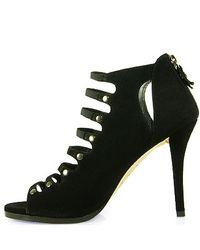 Stuart Weitzman - Black Marie Suede Ankle Boots - Lyst
