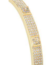 Anita Ko | Metallic Spike 18karat Gold Diamond Bracelet | Lyst