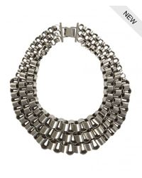 AllSaints | Metallic Biserka Necklace | Lyst