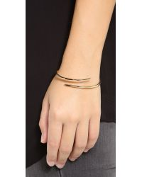 Campbell | Metallic Tornado Cuff Bracelet | Lyst
