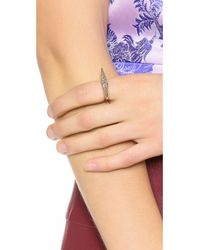 House of Harlow 1960 - Metallic Sparkling Marquis Ring - Lyst