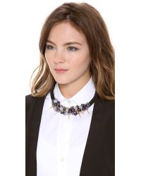 Lizzie Fortunato - Black After The Gold Rush Necklace - Lyst