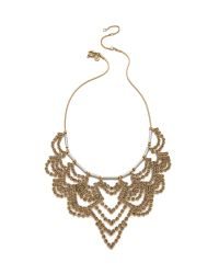 Madewell | Metallic Rhinestone Festival Necklace | Lyst