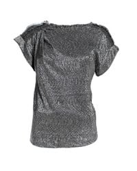 Pinko | Metallic Sweater | Lyst