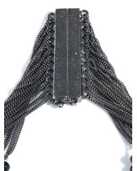 Rosantica - Black Raissa Onyx and Volcanic Lava Necklace - Lyst