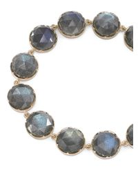Irene Neuwirth   Blue Rose Cut Labradorite Bracelet   Lyst