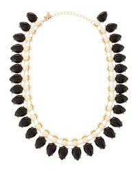Fragments - Dualtone Necklace Blackwhite - Lyst