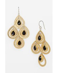Anna Beck | Metallic Gili Chandelier Earrings | Lyst
