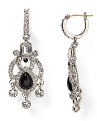 Carolee | Black Eastern Opulence Mini Chandelier Earrings | Lyst