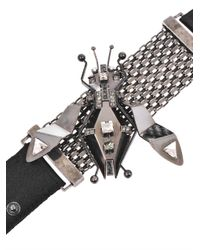 Lanvin - Metallic Luisa Embellished Insect Bracelet - Lyst