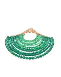 Rosantica - Green Raissa Jade Necklace - Lyst