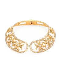 Alexander McQueen | Metallic Chocker Wings Collar Necklace | Lyst