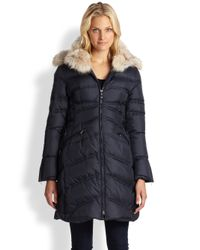 Dawn Levy - Blue Long Down Coat - Lyst