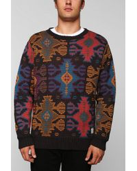 Urban Outfitters | Multicolor Lifetime Xavier Pattern Sweater for Men | Lyst