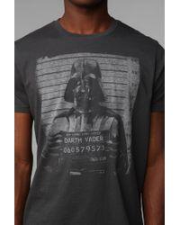 Urban Outfitters - Black Junk Food Darth Vader Mug Shot Tee for Men - Lyst