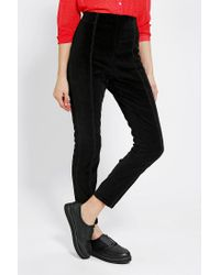 Urban Outfitters   Black Kimchi Blue Velvet Pinup Pant   Lyst