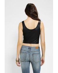 Urban Outfitters - Black Out From Under Crushed Velvet Bra Top - Lyst