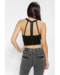 Urban Outfitters | Black Out From Under Strappy Zip Back Bra Top | Lyst